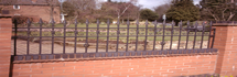 Wrought iron small gate | railings